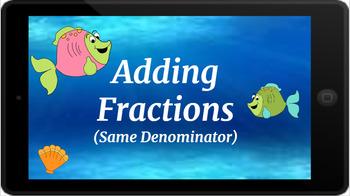Google Classroom: Adding Fractions- Like Denominators