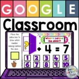 Google Classroom Addition Fluency to Ten - With EASEL