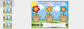 Google Classroom Addition with Ten Frames