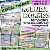 Google Classroom Agenda Slides Distance Learning