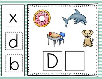 Google Classroom Alphabet Match