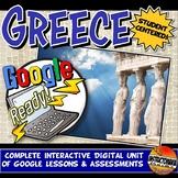 Google Classroom Ancient Greece Unit Plan Lesson & Activity Bundle Grades 5-8