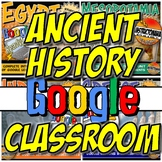 Google Classroom Ancient History Curriculum Year Bundle: D