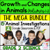 Animal Research Projects: Grade 2 Science Google Classroom [BUNDLE]