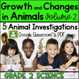 Google Classroom™ Animal Research Projects: Grade 2 Science [Part 2]