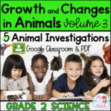 Google Classroom™ Animal Research Projects: Grade 2 Science [Part 3]