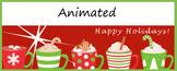 Animated Google Classroom Headers (Holiday Cheer!) - Dista