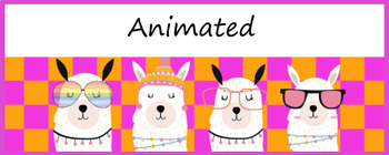 Animated Google Classroom Headers Llama Llama For Distance Learning