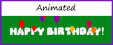 Google Classroom Animated Headers (Birthday Balloons)
