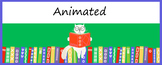 Animated Google Classroom Headers (Bookish) for Distance Learning