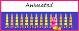 Google Classroom Animated Headers (Caterpillar)