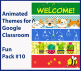 Animated Google Classroom Headers (Fun Pack #10) for Dista