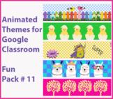 Animated Google Classroom Headers (Fun Pack #11) - Distanc