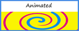 Google Classroom Animated Headers (Swirl)