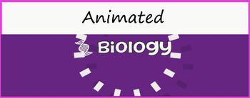 """Biology"" Google Classroom Animated Theme"