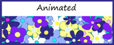 Google Classroom Animated Headers (Blooms)