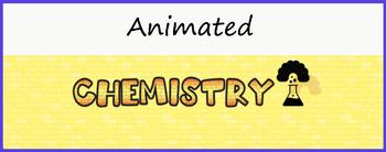 """Chemistry""  Animated Google Classroom Headers/Banners"
