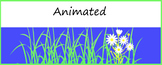 Animated Google Classroom Headers (Flowers) - Distance Learning