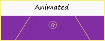 Google Classroom Animated Theme (Geometric Shapes)