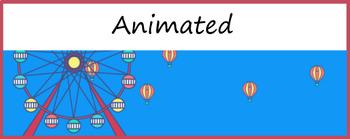 Google Classroom Animated Headers (Hot Air Balloon)