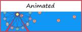 Animated Google Classroom Headers (Hot Air Balloons) - Dis