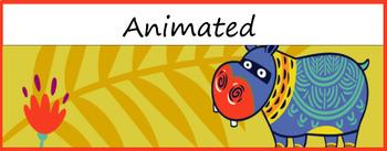 Google Classroom Animated Theme (Jungle)