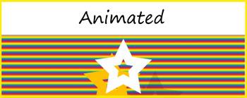 Google Classroom Animated Theme (Rainbow)