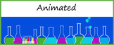 Animated Google Classroom Headers (Science Class) for Dist