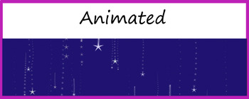 Google Classroom Animated Headers (StarGaze)