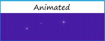 """Starry Night"" Animated Google Classroom Headers/ Banners"