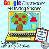 Google Classroom Apple Shape Match