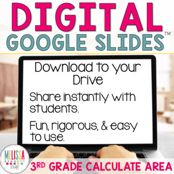 Google Classroom Area using Square Units