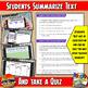 Google Classroom Aztecs Historical Snapshot Interactive Reading Activites & Quiz