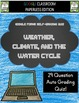 Google Classroom BUNDLE Weather Climate and Water Cycle