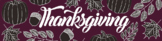 Google Classroom Banner: Thanksgiving Festivities 1