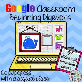 Google Classroom Beginning Digraphs