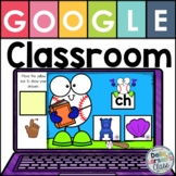 Google Classroom Beginning Digraphs with EASEL
