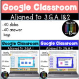 Google Classroom Bundle for 3.G