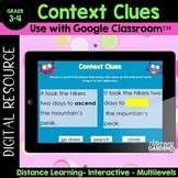 Google Classroom CONTEXT CLUES - Distance Learning