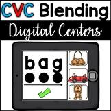Google Classroom CVC Blending -- BONUS Boom Cards included