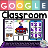 Google Classroom CVC Words - Text  the Code with EASEL
