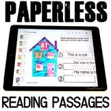 Google Classroom™ Activities   Fluency Passages   Kindergarten and First Grade