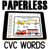 Google Classroom Activities CVC Words