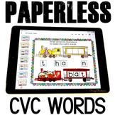Digital Google Slides CVC Word Games Kindergarten Google Slides Activities