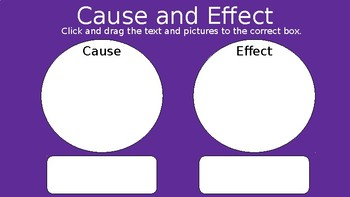 Google Classroom - Cause and Effect