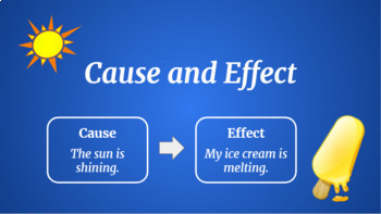 Google Classroom: Cause and Effect