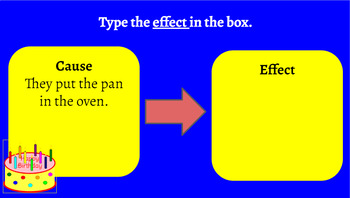 Google Classroom: Cause and Effect Read and Write