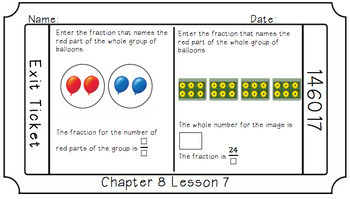 Google Classroom- Chapter 8 Exit Slips