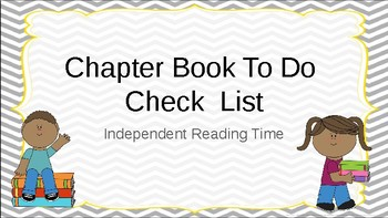 Google Classroom: Chapter Book Task Cards