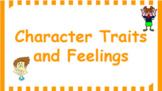 Google Classroom- Character Traits and Feelings